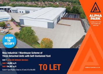 Thumbnail Warehouse to let in Alpha Park, Electron Way, Chandler's Ford, Hampshire