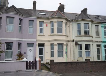 Thumbnail 5 bed terraced house for sale in Embankment Road, Plymouth