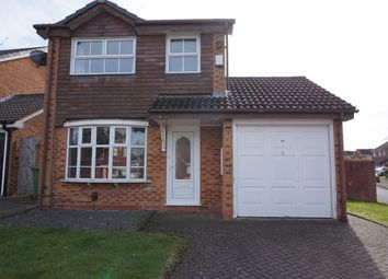 Thumbnail 3 bed detached house to rent in Shelsley Way, Solihull
