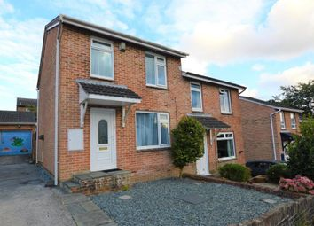 Thumbnail 3 bed semi-detached house for sale in Maddock Close, Plymouth, Devon