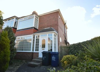 Thumbnail 2 bedroom semi-detached house for sale in Robsheugh Place, Fenham, Newcastle Upon Tyne