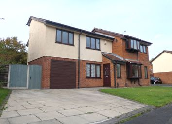 Thumbnail 3 bed semi-detached house for sale in Bramshill Close, Birchwood, Warrington