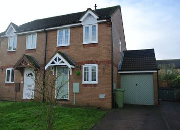 Thumbnail 2 bed semi-detached house for sale in Yalts Brow, Emerson Valley, Milton Keynes
