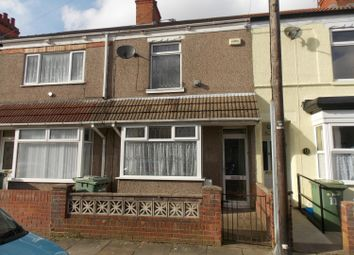 Thumbnail 3 bed terraced house to rent in Cooper Road, Grimsby, Lincolnshire