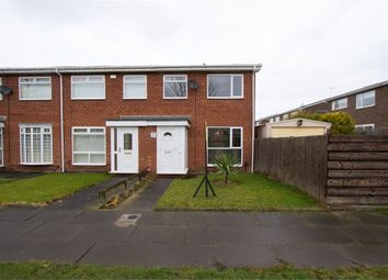 Thumbnail 3 bed end terrace house for sale in Valeria Close, Wallsend, Tyne And Wear