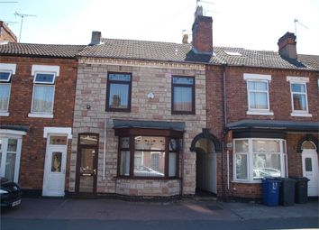 Thumbnail 4 bed terraced house for sale in Shobnall Street, Burton-On-Trent, Staffordshire
