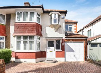 Thumbnail 4 bed semi-detached house for sale in Sherrick Green Road, Dollis Hill, London