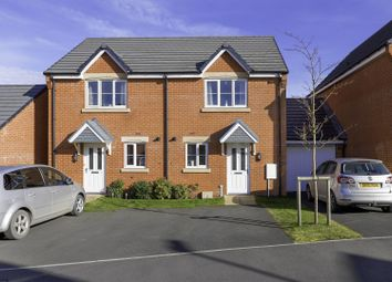 Thumbnail 2 bed semi-detached house to rent in Manor House Court, Chesterfield