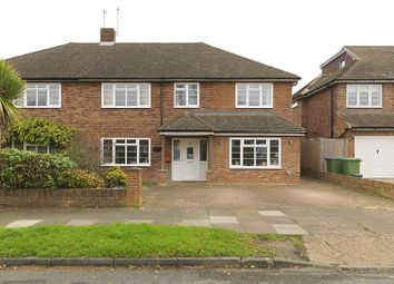 Thumbnail 4 bed semi-detached house for sale in Sterry Drive, Thames Ditton