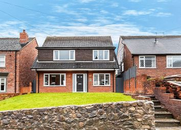 Thumbnail 4 bed detached house for sale in Church Lane, Mow Cop, Stoke-On-Trent