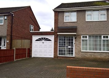 Thumbnail 3 bedroom semi-detached house to rent in Bignal Drive, Leicester