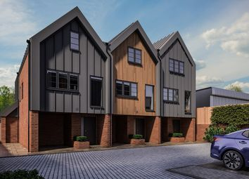 Thumbnail 3 bed town house for sale in Montague Close, St Albans