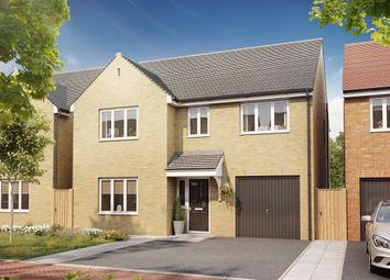 """Thumbnail 4 bedroom detached house for sale in """"The Harley """" at Bellona Drive, Peterborough"""
