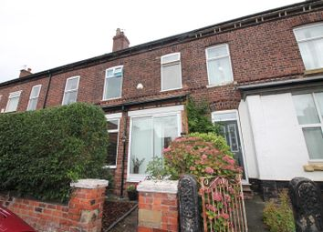 Thumbnail 3 bed terraced house for sale in Hampstead Avenue, Flixton, Urmston, Manchester