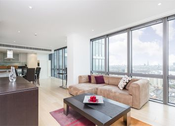 Thumbnail 2 bed flat to rent in West India Quay, Hertsmere Road, Canary Wharf