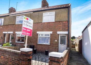 Thumbnail 3 bed end terrace house for sale in Limmer Road, Gorleston, Great Yarmouth