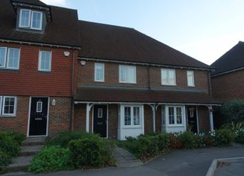Thumbnail 3 bed terraced house to rent in Brookfield Drive, Horley
