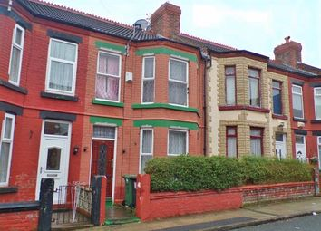 Thumbnail 4 bed terraced house for sale in Merton Place, Birkenhead, Wirral