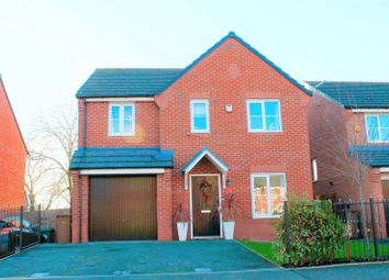 Thumbnail 4 bed detached house for sale in 12 Cardinal Way, Newton-Le-Willows