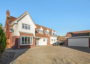 Thumbnail 5 bed detached house for sale in Northwick Crescent, Solihull, West Midlands