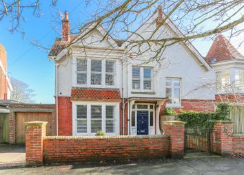 Thumbnail 5 bed semi-detached house for sale in De Warrenne Road, Lewes