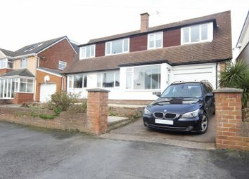 Thumbnail 3 bed detached bungalow for sale in Melloncroft Drive, Caldy, Wirral