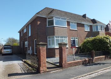 Thumbnail 3 bed flat to rent in Marlborough Road, St Leonards, Exeter, Devon