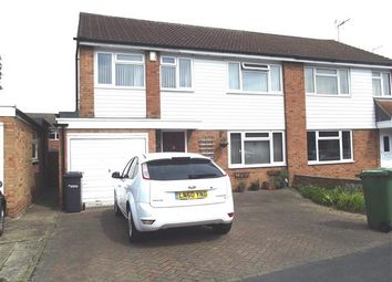 Thumbnail 4 bedroom semi-detached house for sale in Ranworth Avenue, Hoddesdon