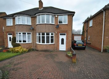 Thumbnail 3 bed semi-detached house to rent in Walford Drive, Solihull, West Midlands
