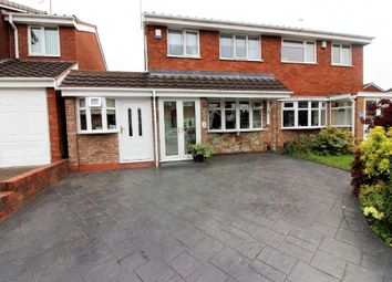 Thumbnail 4 bed semi-detached house for sale in Langmead Close, Walsall