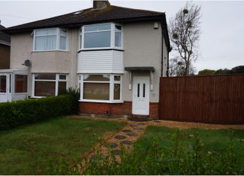 Thumbnail 2 bedroom semi-detached house for sale in Churchill Road, Poole