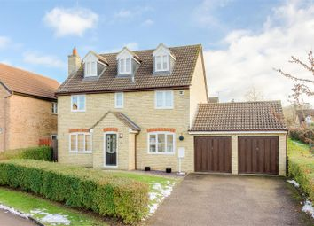 Thumbnail 5 bedroom detached house for sale in Clark Crescent, Towcester