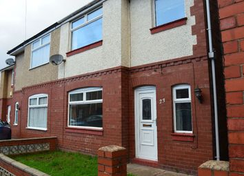 Thumbnail 3 bed semi-detached house to rent in Newcastle Street, Crewe