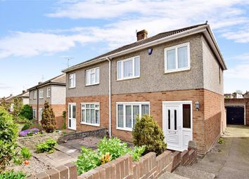 Thumbnail 3 bed semi-detached house for sale in Ingle Road, Chatham, Kent