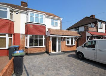Thumbnail 5 bed semi-detached house to rent in Linden Gardens, Enfield