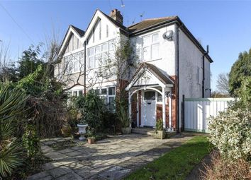 Thumbnail 3 bedroom semi-detached house for sale in Lancaster Gardens, Kingston Upon Thames, Surrey