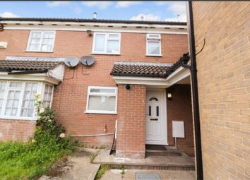 Thumbnail 2 bed terraced house for sale in Dorrington Close, Luton