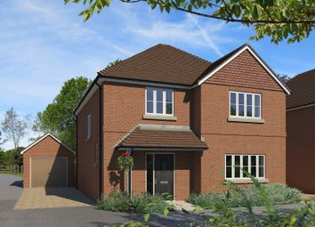 Thumbnail 4 bedroom detached house for sale in Croft Road, Spencers Wood, Reading