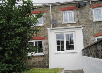 Thumbnail 2 bed cottage to rent in Henoyadd Road, Abercrave, Swansea.