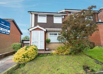 Thumbnail 3 bed semi-detached house for sale in Barnfield Close, Egerton, Bolton, Lancashire