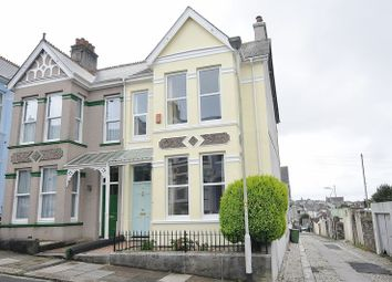 Thumbnail 3 bedroom end terrace house for sale in Wembury Park Road, Peverell, Plymouth