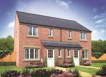"Thumbnail 3 bed semi-detached house for sale in ""The Hanbury"" at Lime Avenue, Oulton, Lowestoft"