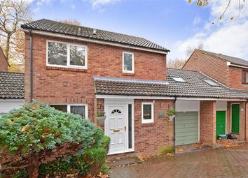 Thumbnail 4 bedroom detached house for sale in Hurst Hill, Walderslade Woods, Chatham, Kent