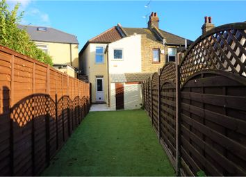 Thumbnail 3 bedroom end terrace house for sale in Milton Street, Swanscombe