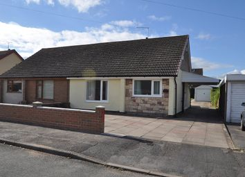 Thumbnail 2 bed semi-detached bungalow to rent in Park Drive, Werrington, Stoke-On-Trent
