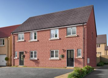 """Thumbnail 3 bed semi-detached house for sale in """"The Eveleigh"""" at Amos Drive, Pocklington, York"""