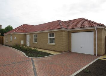 Thumbnail 3 bed detached bungalow for sale in Rosewood Close, Whittlesey, Peterborough