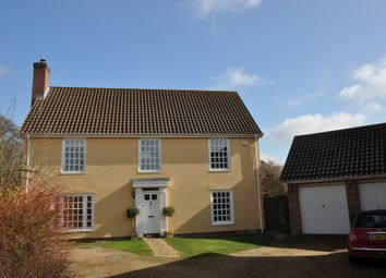 Thumbnail 4 bedroom detached house for sale in Meadow View, Needham Market, Ipswich