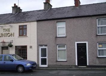 Thumbnail 3 bed terraced house to rent in Caernarfon Road, Bangor