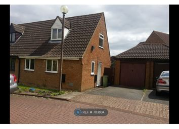Thumbnail 2 bedroom semi-detached house to rent in Nelson Close, Crownhill, Milton Keynes